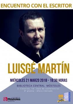 Encuentro con autor LUISGÉ MARTÍN Móstoles