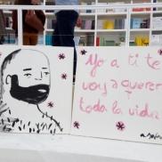Obra de Aitor Saraiba - Feria de Guadalajara, México (2017)