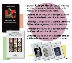 Feria del Libro de Madrid 2019 flyer